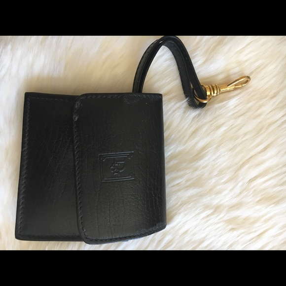 Dior Accessories - Dior small black square wallet card holder 1d407dbc71860